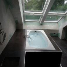 Traumhafte Aussicht beim Chillen im Pool