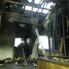 Wiederaufbau nach Brandfall