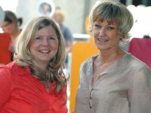 Tanja Klang und Gritt Bartels