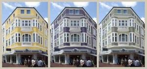 Fassaden - Farbkonzept - 2009 (Nachherbild folgt)