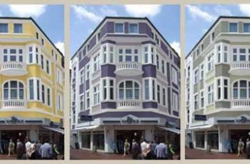 Fassaden – Farbkonzept – 2009 (Nachherbild folgt)