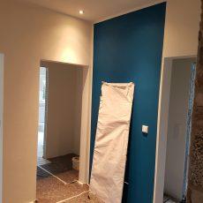 Umbau des Erdgeschosses eines Zweifamilienhauses
