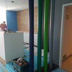 Das neue Foyer – kurz vor der Zielgeraden!
