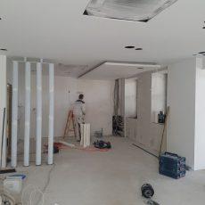 Es geht voran! Das neue Foyer nimmt Gestalt an: